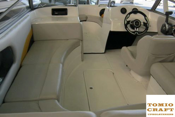 Boat Seat Upholstery | Professional | Tomio Craft Upholsterers