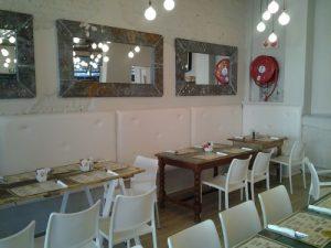 Restaurant Seat Upholstery