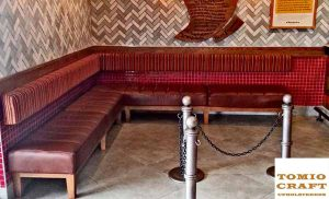 Restaurant Bench Seat Manufacturing